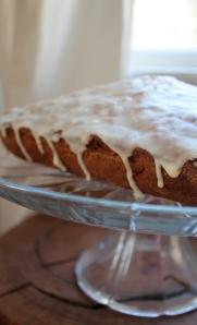 finished cranberry-orange cake