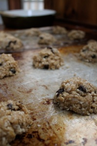 7.raw cookies on tray