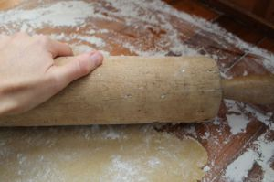 7.roll out dough