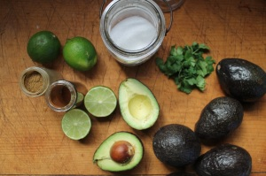 1.guacomole ingrediants