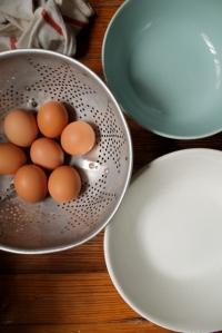 1.hard boiled eggs