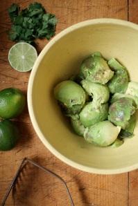 2.scooped avocado