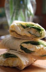 5.egg salad roll-ups