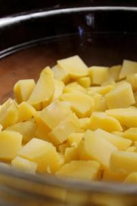 potatoes cubed