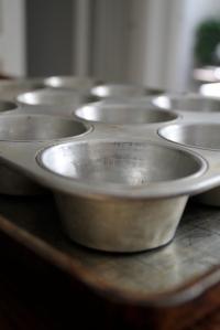 muffin tins + baking sheet