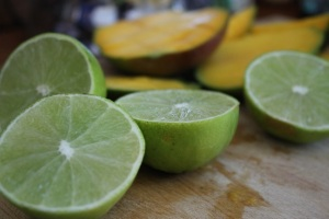 limes and mango