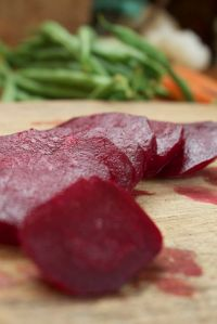 beets and green beans