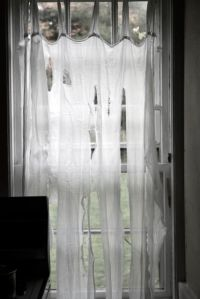 creepy curtains