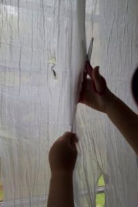 making creepy curtains